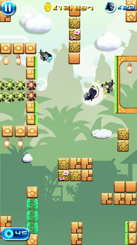 Ninja Dashing- screenshot