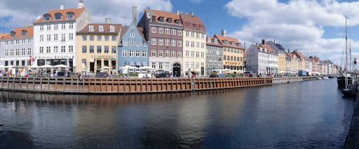 Nyhavn (literally New Harbor) is a waterfront, canal and entertainment district in Copenhagen, dating to the 1600s.