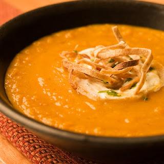 Southwestern Sweet Potato Soup
