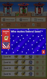 US Citizenship Civics Practice - screenshot thumbnail