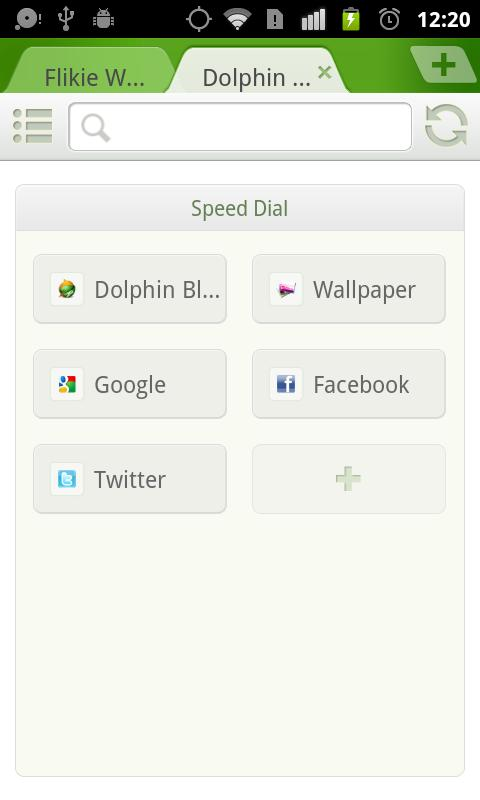 Dolphin Browser® Mini - screenshot