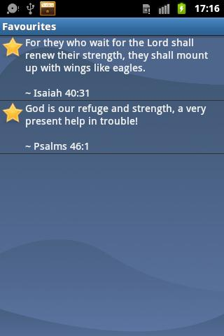 Inspiring Bible Verses - screenshot