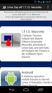 Linux Day all'I.T.I. Marzotto - screenshot thumbnail