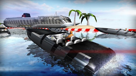 Motor Boat River Run 3D - screenshot thumbnail