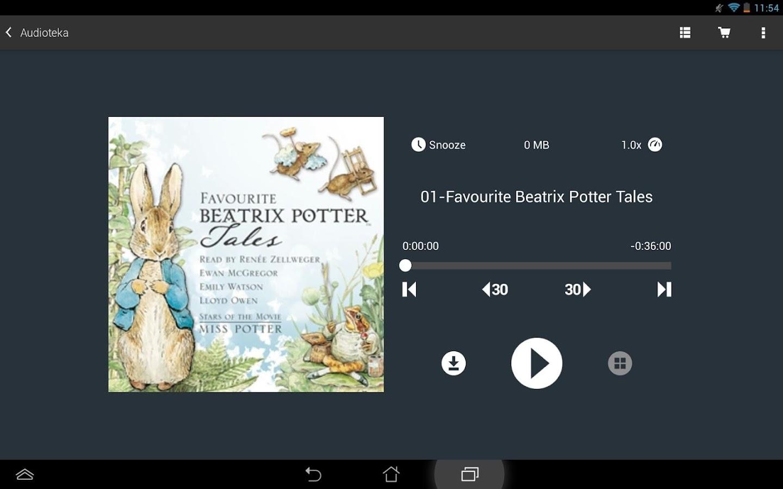 Audioteka - screenshot