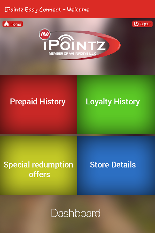 iPointz Client Connect- screenshot