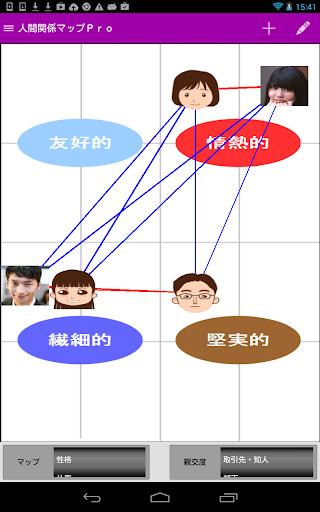 人間関係マップPro