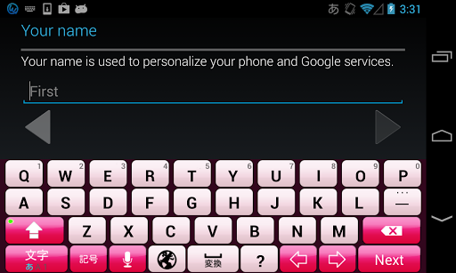 FashionPink keyboard image 2.0 Windows u7528 2