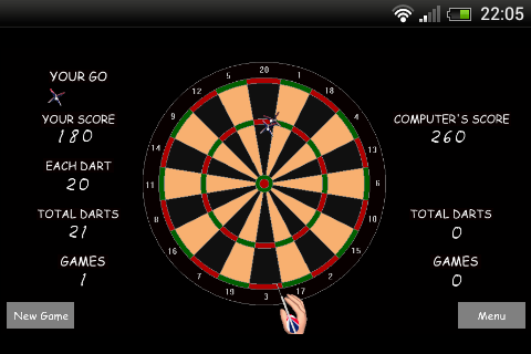 Darts  screenshots 1