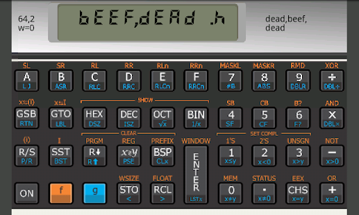 Touch 16i comp sci calculator- screenshot thumbnail