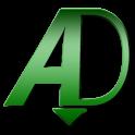aDownloader logo