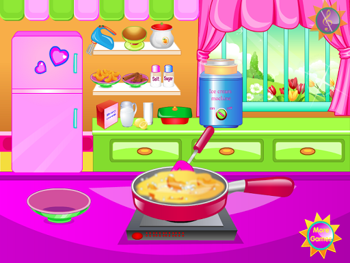無料休闲Appのピーチアイスクリーム料理ゲーム|記事Game