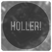 Holler! blk Icon Pack