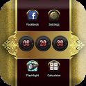 Gold Diamond Go LauncherEX icon