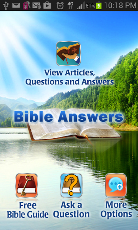 Bible Questions & Answers FAQ – (Android Apps) — AppAgg