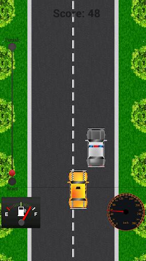2D Car Games Taxi