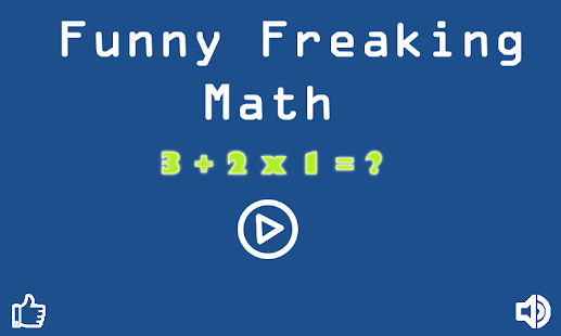 Funny Freaking Math - screenshot thumbnail