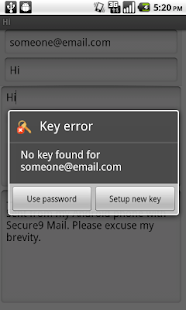 Secure9 Mail - screenshot thumbnail