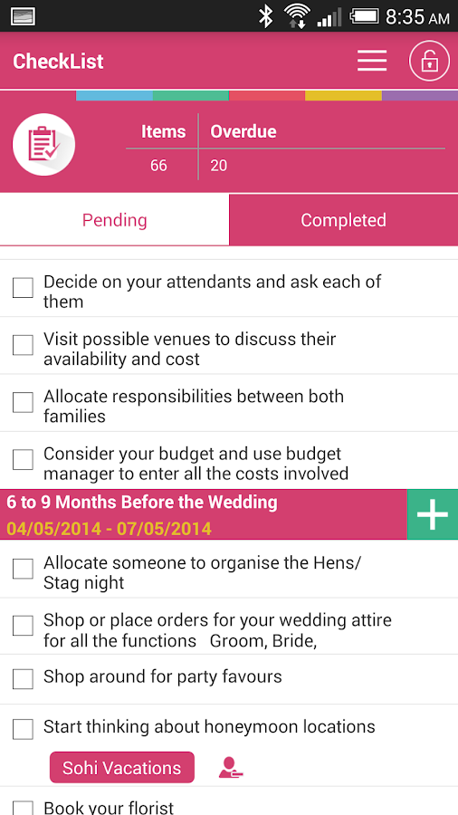 Indian Wedding Planner- screenshot
