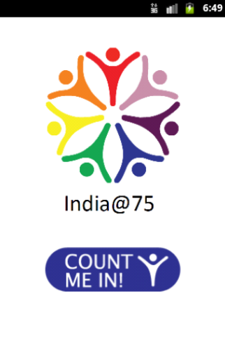 India 75 - Count Me In