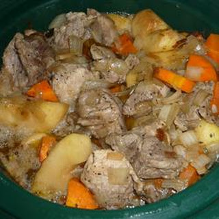 Autumn Pork and Apple Stew