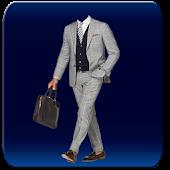 New York Men Suit Photomontage