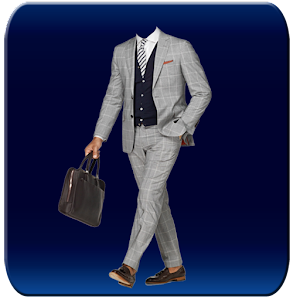 New York Men Suit Photomontage download