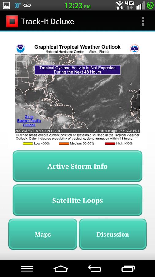Track-It Deluxe for Hurricanes - screenshot