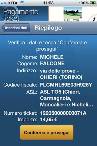 Pagamento ticket SSN- screenshot