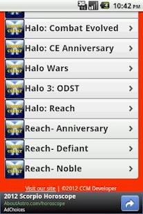 Halo All Series Cheats Free - screenshot thumbnail