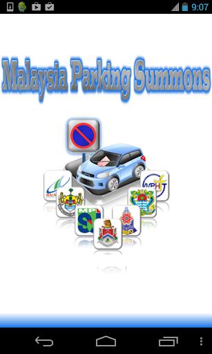 Malaysia Parking Summons