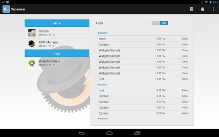 Superuser Screenshot 2