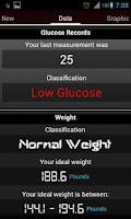 Screenshot of Register Glucose free