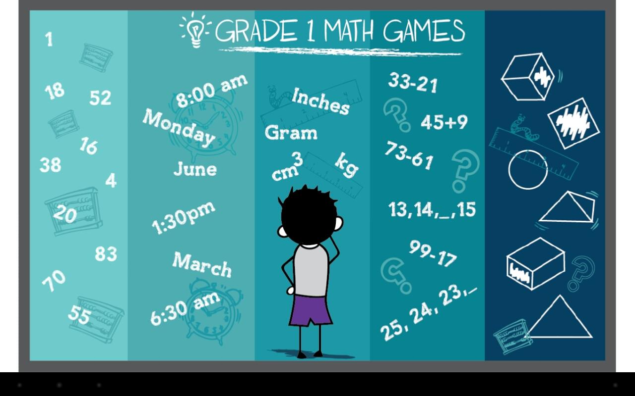 Grade 1 Math Games Free - screenshot