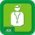 AOK-Vorsorge / Sağlık hizmeti icon