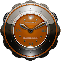 Dragon Clock widget orange icon