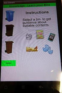 EcoSmart - Recycling made easy- screenshot thumbnail