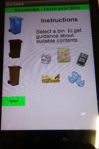 EcoSmart - Recycling made easy - screenshot