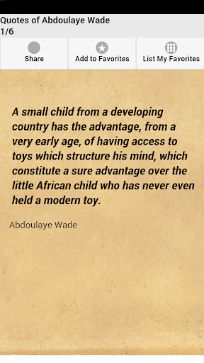 Quotes of Abdoulaye Wade