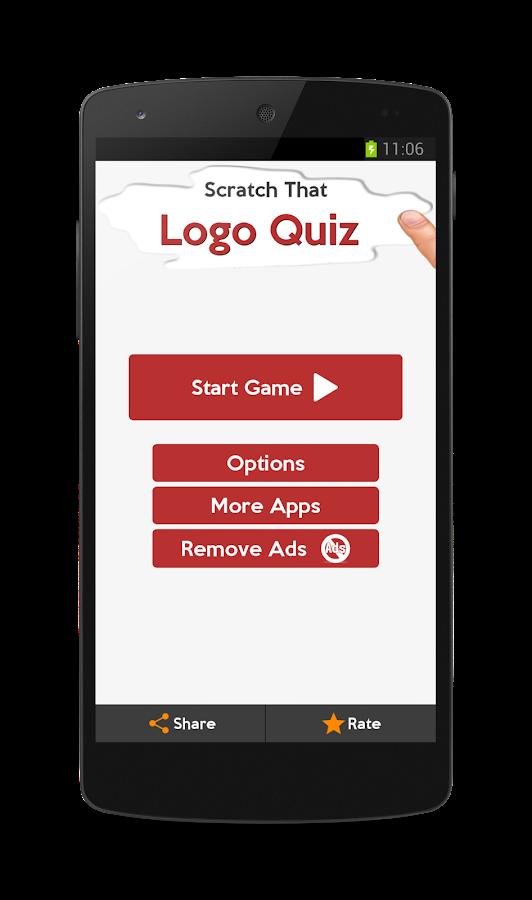 Scratch That Logo Quiz - screenshot