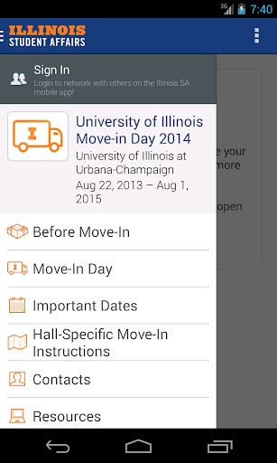 Illinois Student Affairs