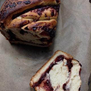 Cran-Apple Swirled Bread