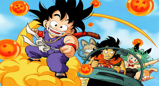 The dragon ball series
