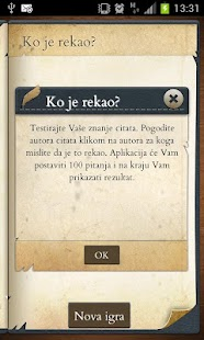 "Kviz ""Ko je rekao"" screenshot"
