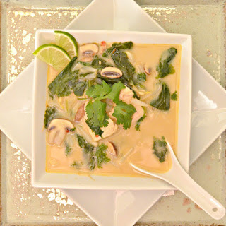 Thai Chicken Coconut Soup.