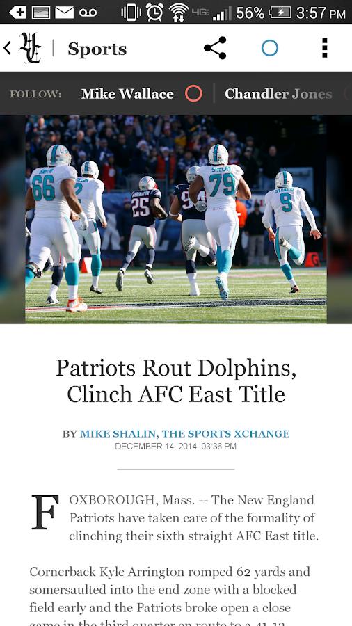 Hartford Courant - screenshot
