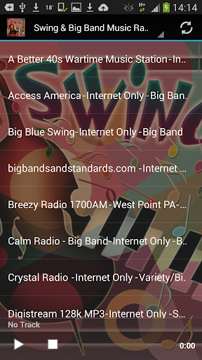 Swing Big Band Music Radio