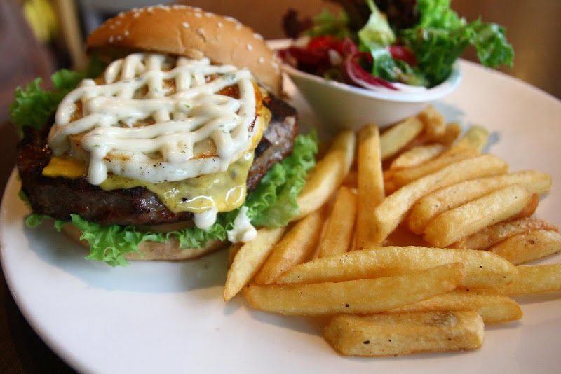 Mighty Pork Burger @ Three Little Pigs & the Big Bad Wolf - Malaysia Food &  Restaurant Reviews