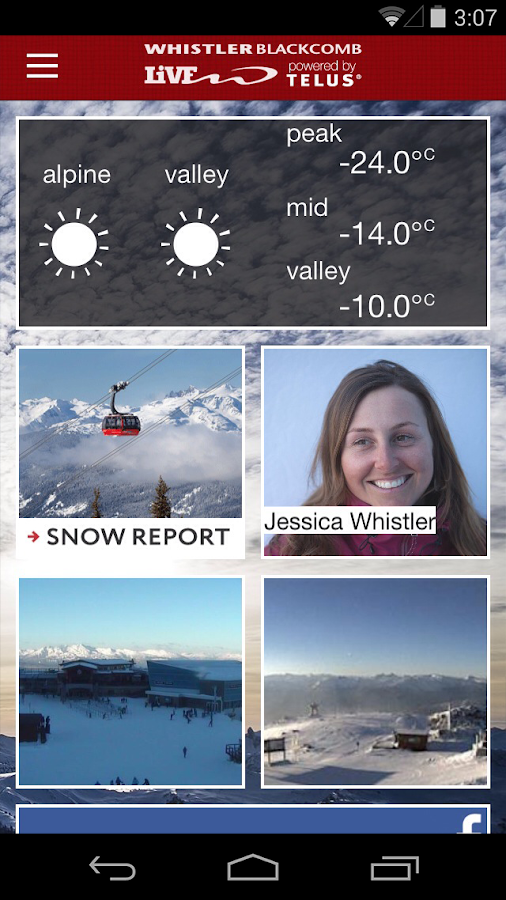 Whistler Blackcomb Live - screenshot