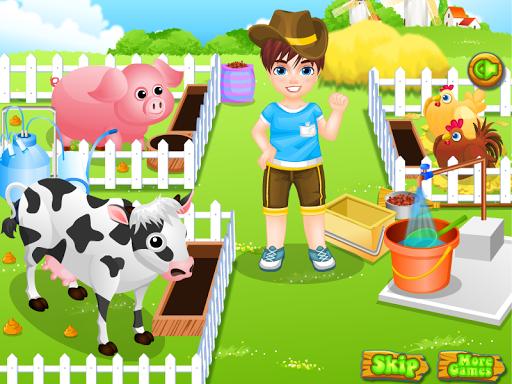 玩免費休閒APP|下載小男孩的农场游戏 app不用錢|硬是要APP